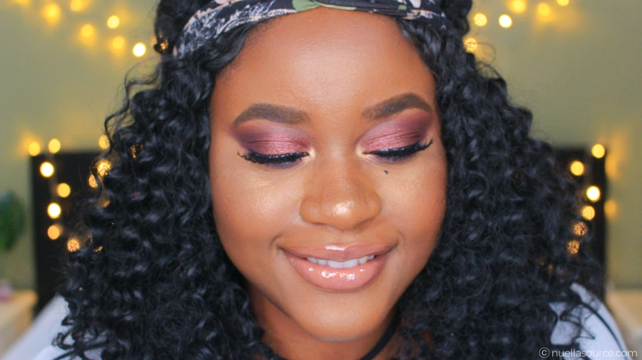 Colourpop ultra glossy lip weho on woc with brown lipliner