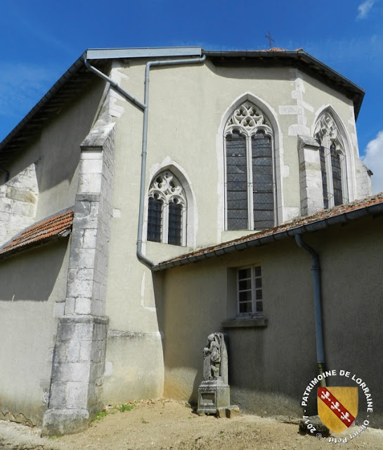 REMOVILLE (88) - Eglise Notre-Dame (XIIe-XVIe siècle)