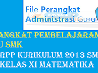 Berkas File Sekolah : Rpp Kurikulum 2013 SMK kelas xi Matematika