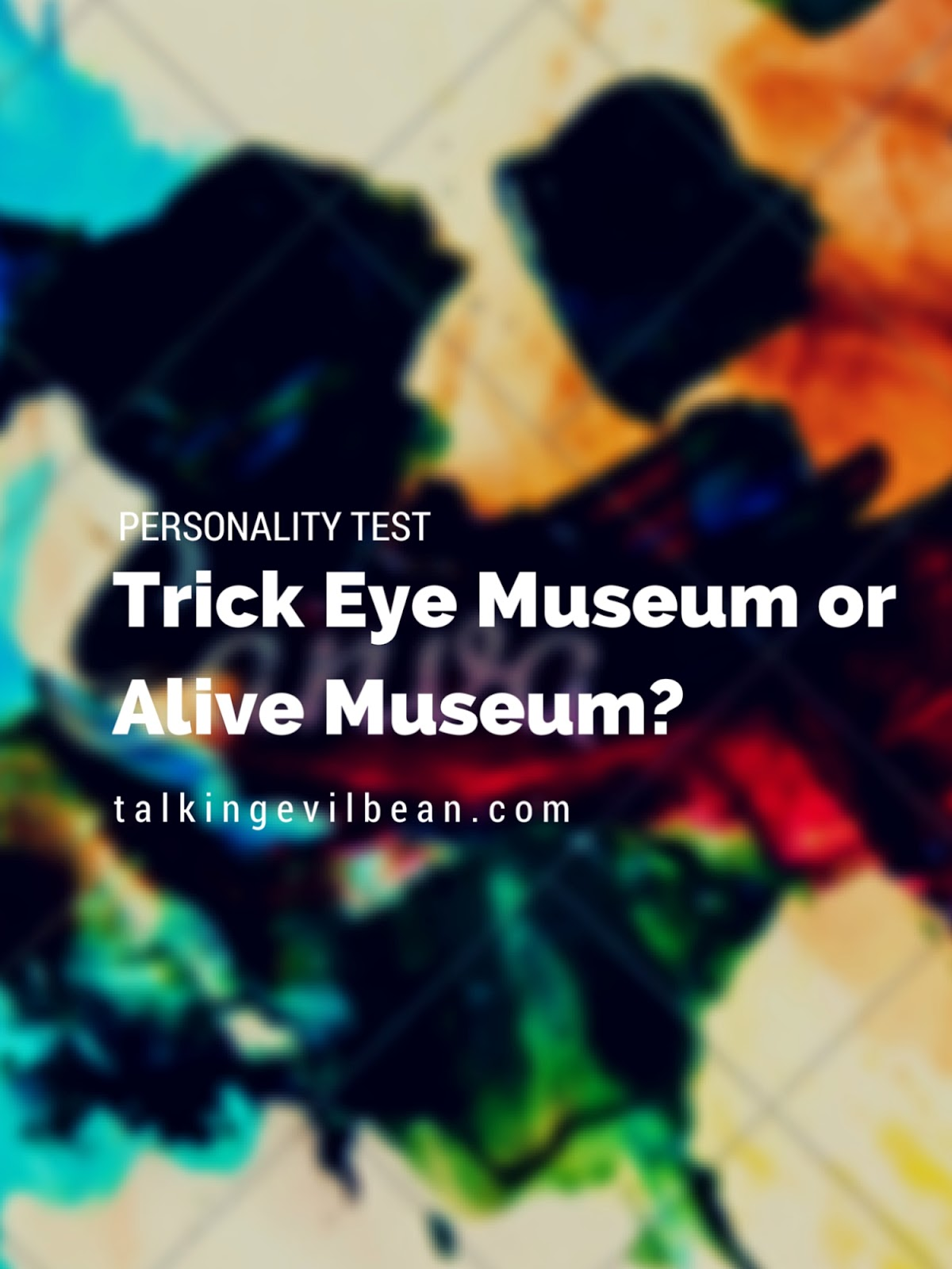 Trick Eye Museum or Alive Museum Singapore