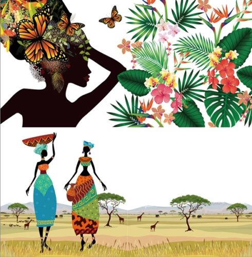 Coloring Book With Africa For Children Adult Painting Drawing Color Therapy