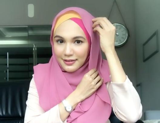 Tutorial Pakai Tudung Instant Shawl Aliff Syukri Oleh Datin Nurshahida