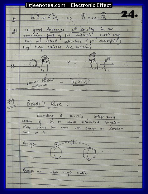 Electronic Effect Notes9
