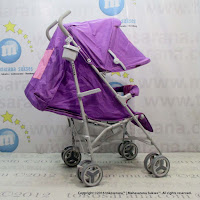 Kereta Bayi Creative Baby BS178 Breeze Buggy Purple