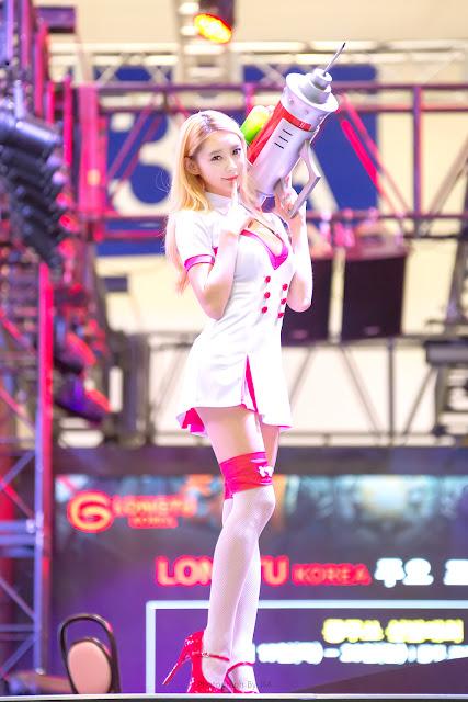 4 Seo Jin Ah - G-STAR 2016 - very cute asian girl-girlcute4u.blogspot.com
