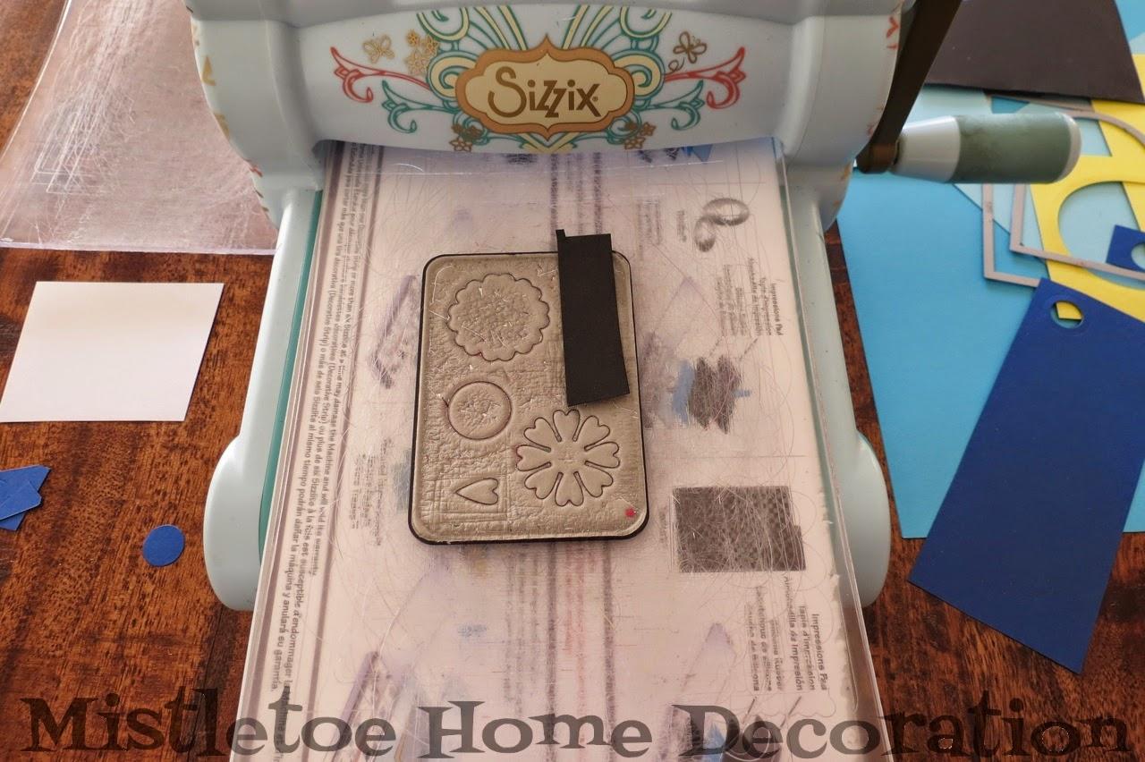 Mistletoe Home Designs Diy Minion Card With Sizzix