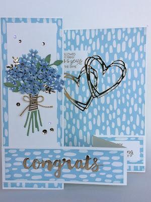 Congrats, wedding card