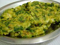 Fritada de Couve-Flor com Espinafre (vegana)
