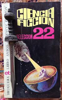 Portada del libro Ciencia ficción selección 22, de varios autores