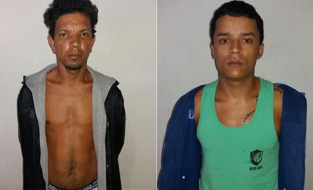 Dois homens com armas, munições e drogas são presos em Joaíma