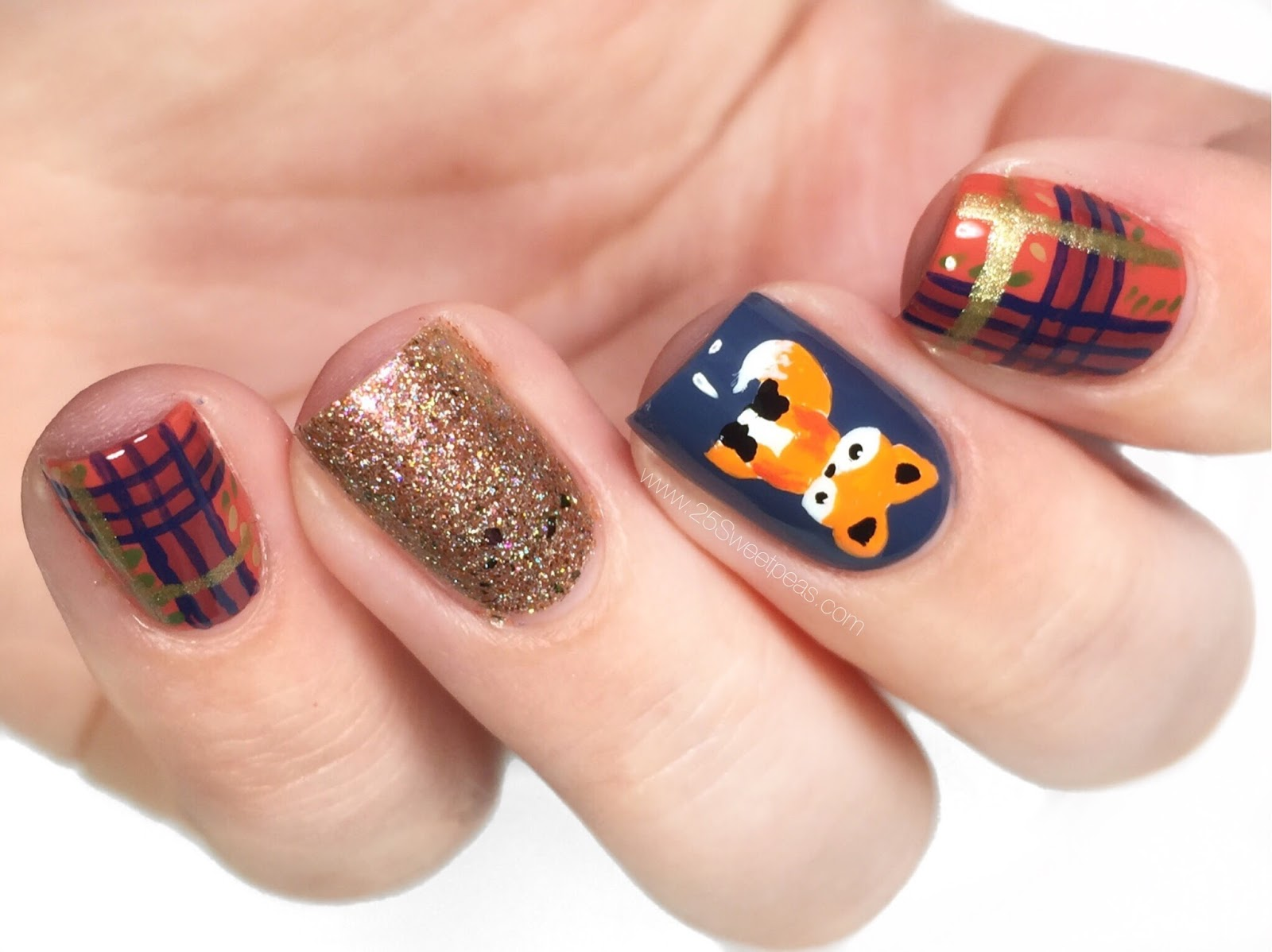 Fall Nails | Jane the Fox - 25 Sweetpeas