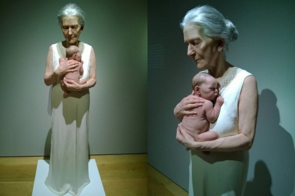 If What You See Is A Photo Of A Grandmother Holding Her Grandchild, You Have To Take A Closer Look