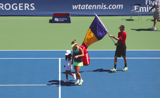 Rogers Cup Semi-Finals Match With Emirates Airline Simona Halep