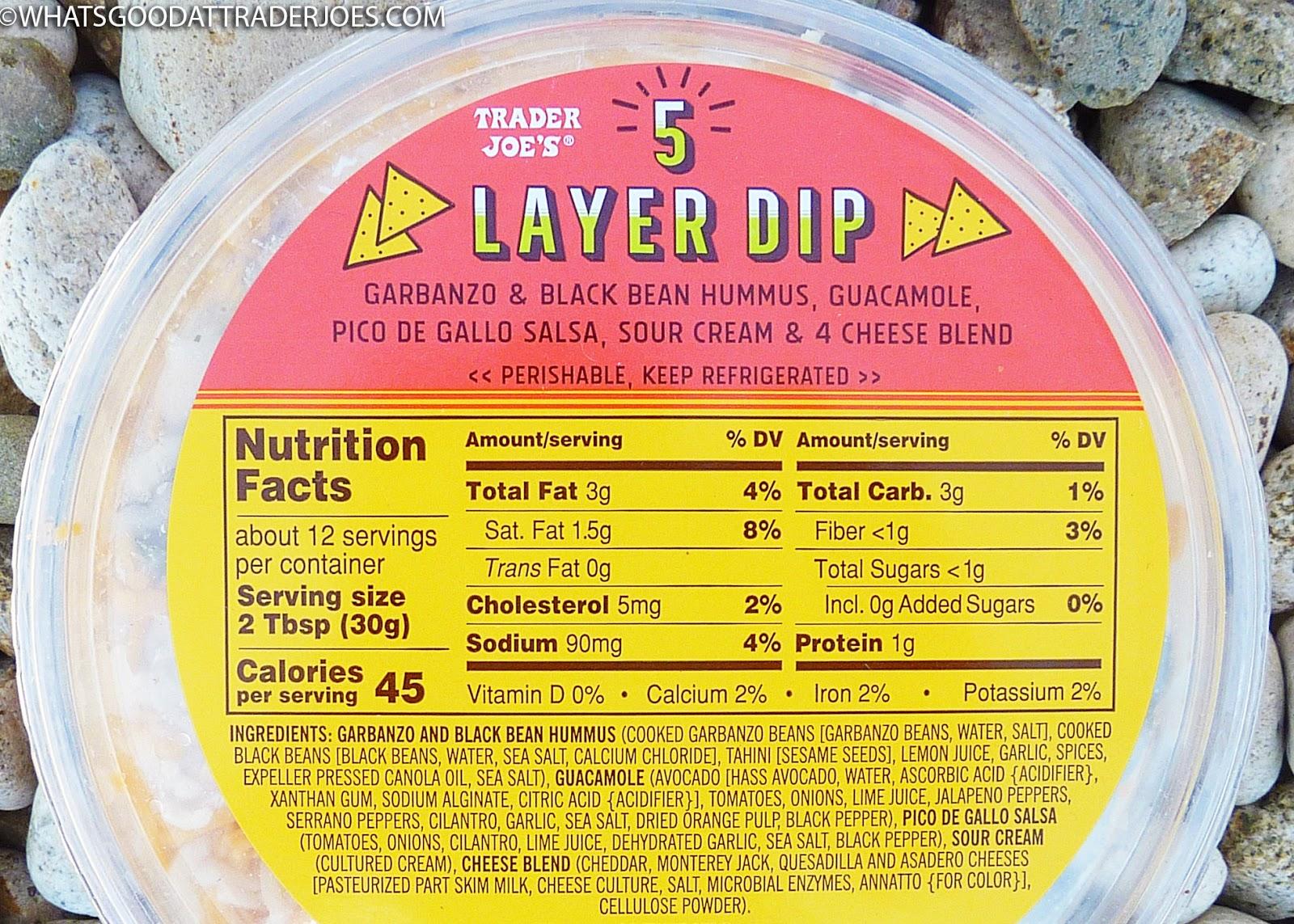 Image result for seven layer dip trader joe's