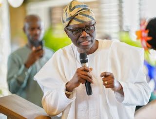 Photos: Sanwo-Olu At Reception Organised For Dapo Abiodun