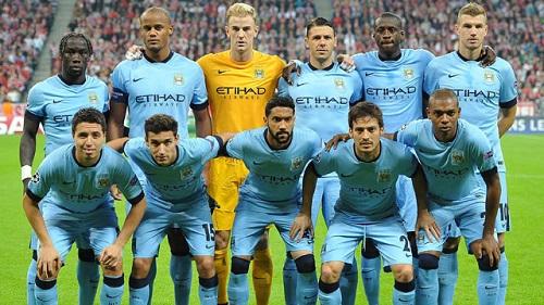 Đội hình câu lạc bộ Manchester City đến Việt Nam