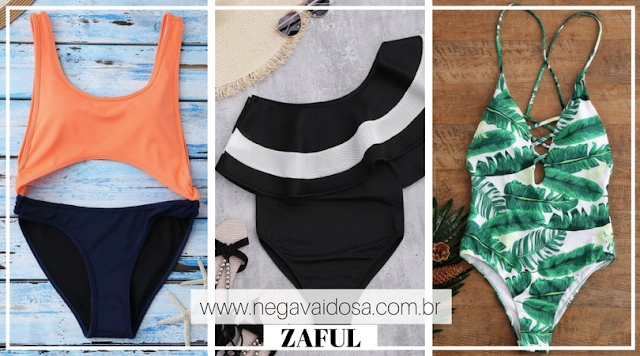 Maiôs e body's (one piece) da Zaful
