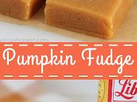 Pumpkin Fudge Recipe