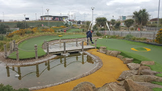 Championship Mini Golf course in New Brighton
