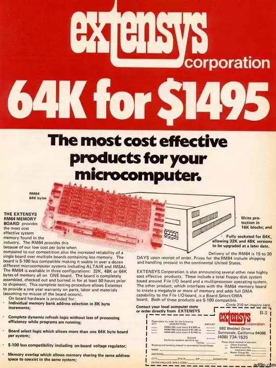 Old days' Computer Advertisements 61