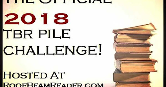 The official 2018 TBR pile Challenge!