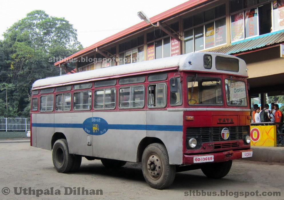 SLTB buses - ශ්රී ලංගම බස්: Ruby bodied TATA LP 1210/36 ...