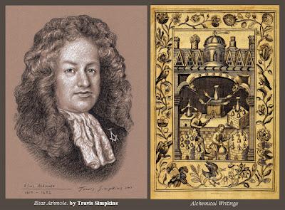 Elias Ashmole. Antiquary, Alchemist and Freemason. Ashmolean Museum. by Travis Simpkins