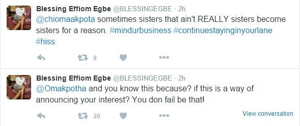 Nollywood Actress come for each other