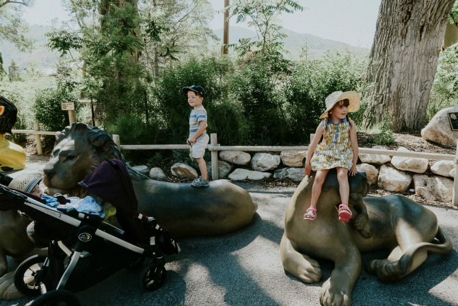 Family Vlog- Our Family Trip to Hogle Zoo by lifestyle Utah blogger Michelle of Mumsy
