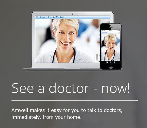 Amwell online doctor