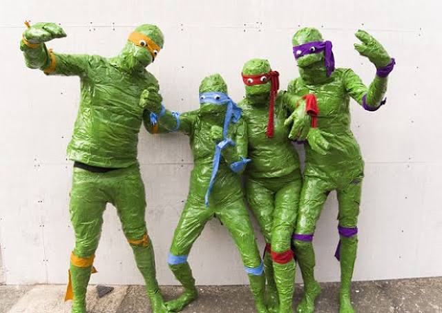 bad TMNT comic con costumes