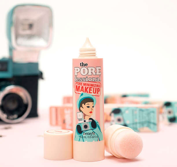 Benefit Launches Porefessional Pore Minimizing Makeup Your