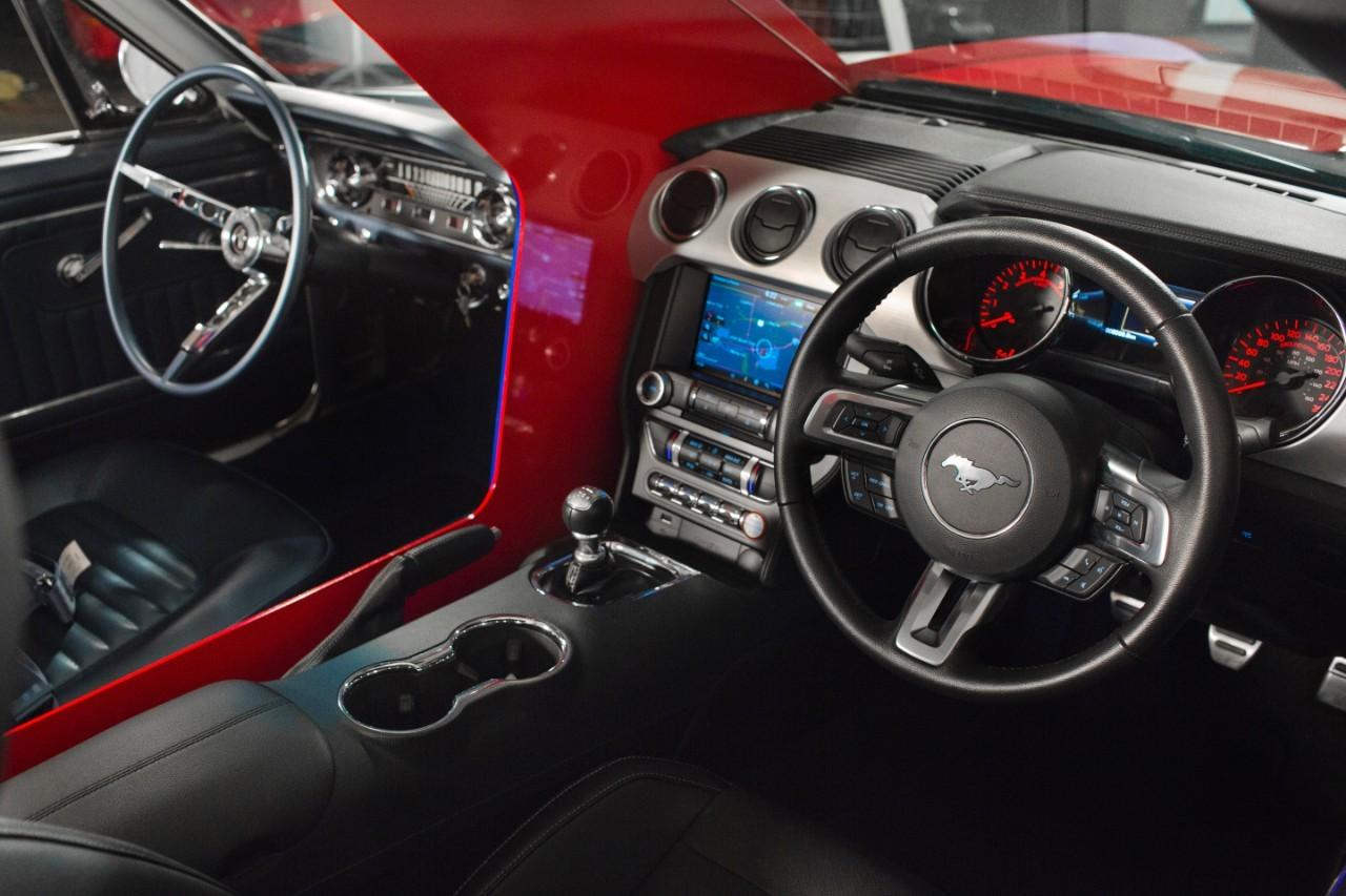 Mustang ngày nay nhiều tính năng hiện đại, chế độ lái đỉnh cao