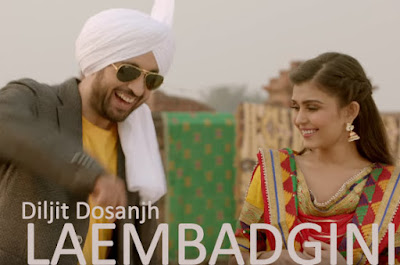 LAEMBADGINI LYRICS - Diljit Dosanjh | New Bhaagra Song