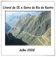 A primeira vez na Serra do Rio do Rastro