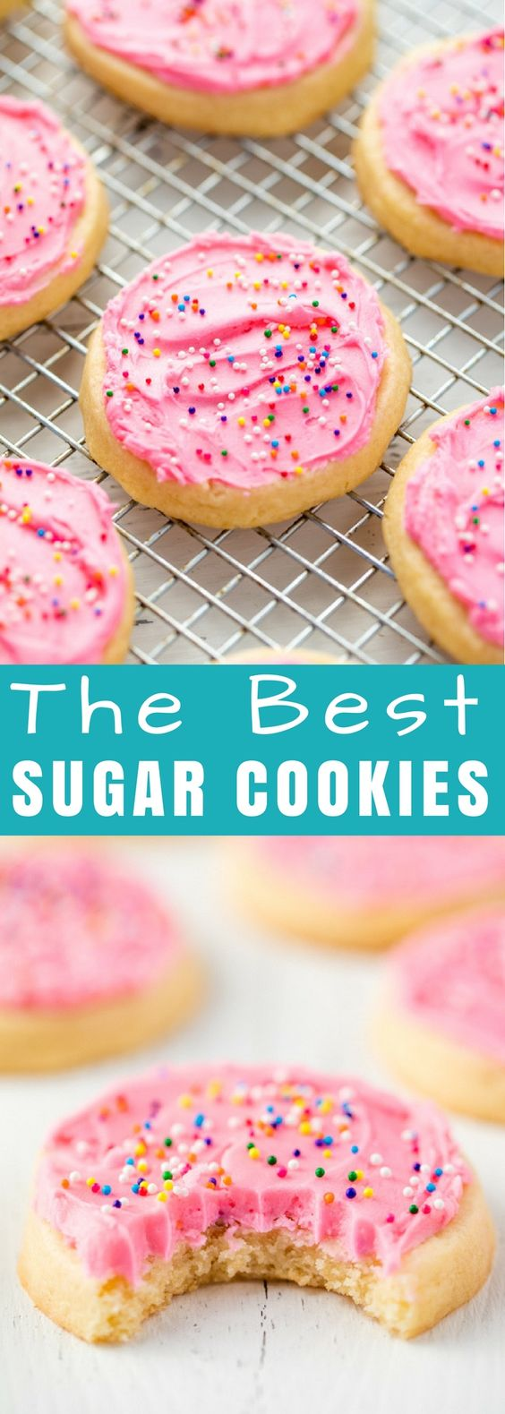 PERFECTLY SOFT SUGAR COOKIE RECIPE