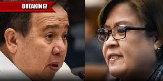 Gordon To De Lima: Ginagamit Mo Lang Ang Senado!