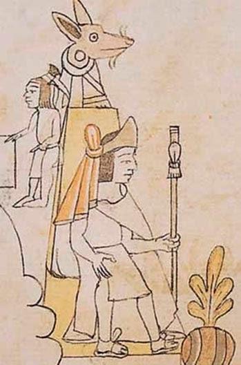 Nezahualcoyótl Codice Azcatitlan Lam XVII Reprografia Marco Antonio Pacheco/Raices