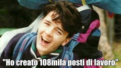 Lavoro, Renzi e bugie