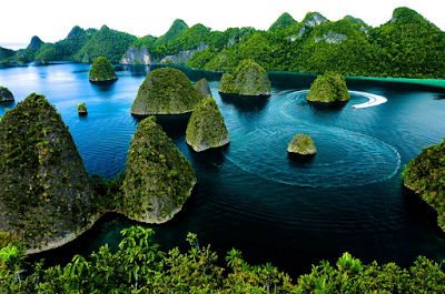 Destinasi wisata Papua kepualau raja ampat