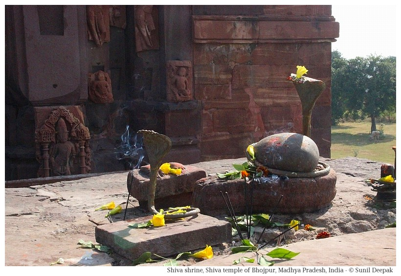 Shiva shrines, Shiva temple, Bhojpur, Madhya Pradesh, India - Images by Sunil Deepak