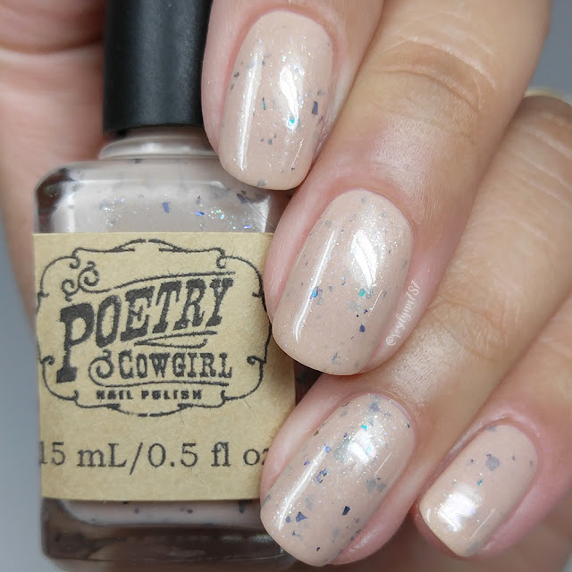 Poetry Cowgirl Nail Polish - Seashells for Sandals (Nude)