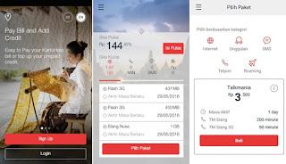 as, Paket Internet Murah Kartu As 2017, aplikasi selfcare mytelkomsel
