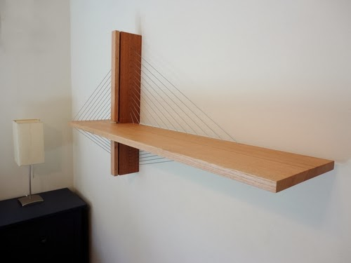 13-Suspension-Book-Shelf-Robby-Cuthbert-Sculptures-Cable-Tension-Furniture-www-designstack-co