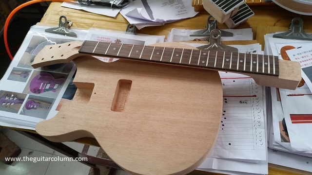 Kit Builder Les Paul Jnr Double Cut Wiring For A Single Pickup