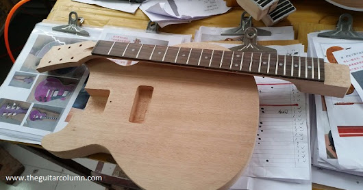 Les Paul Junior Kit Build