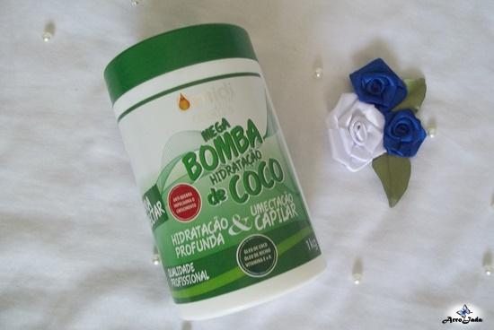 Máscara de Hidratação Bomba de Coco da UmidiHair