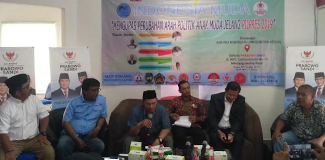 Mantan Relawan Gelar Diskusi untuk Kalahkan Jokowi