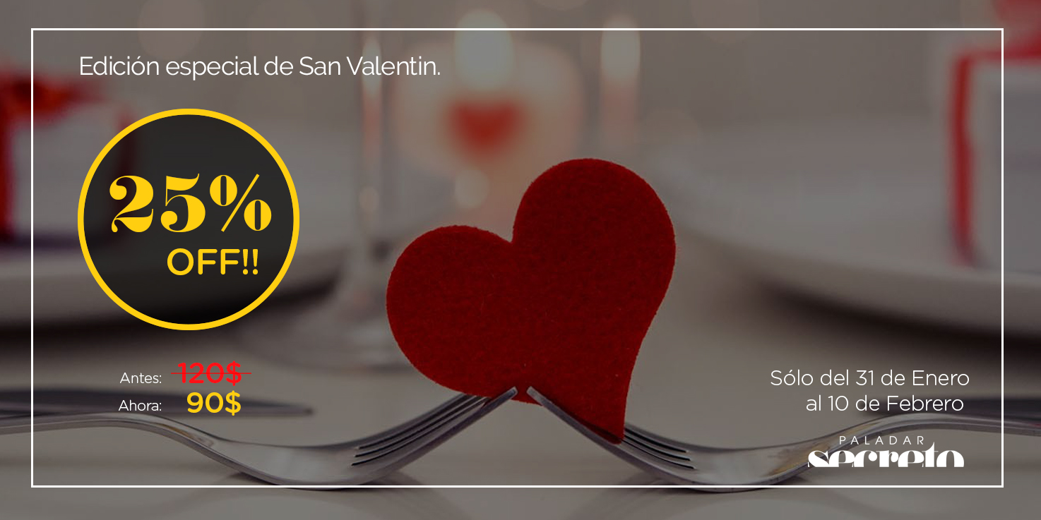 panama city cena de san valentin especial menu