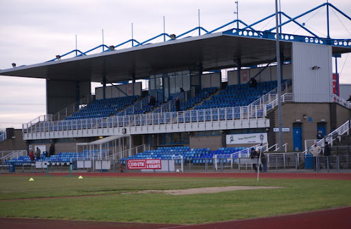 A dead man body has been found in Grantham Town's South Kesteven Sports Stadium